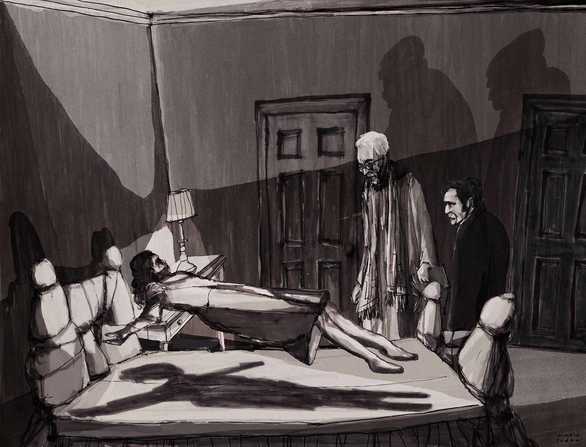 The Exorcist – El Exorcista - Mario Jodra illustration ilustración
