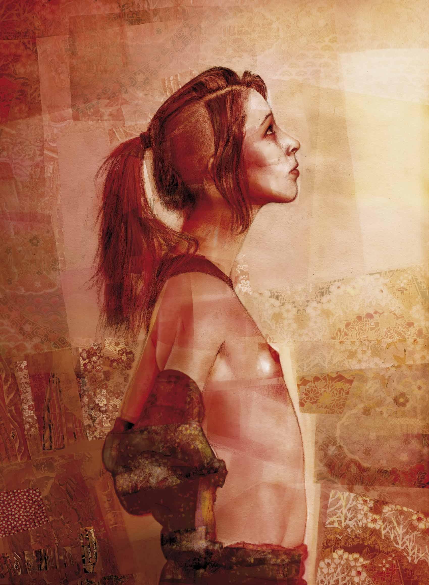 Mario Jodra illustration - El Deseo