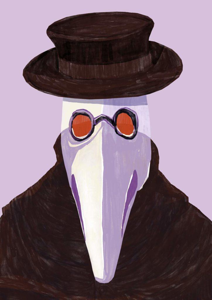 Mario Jodra Art - Plague Doctor