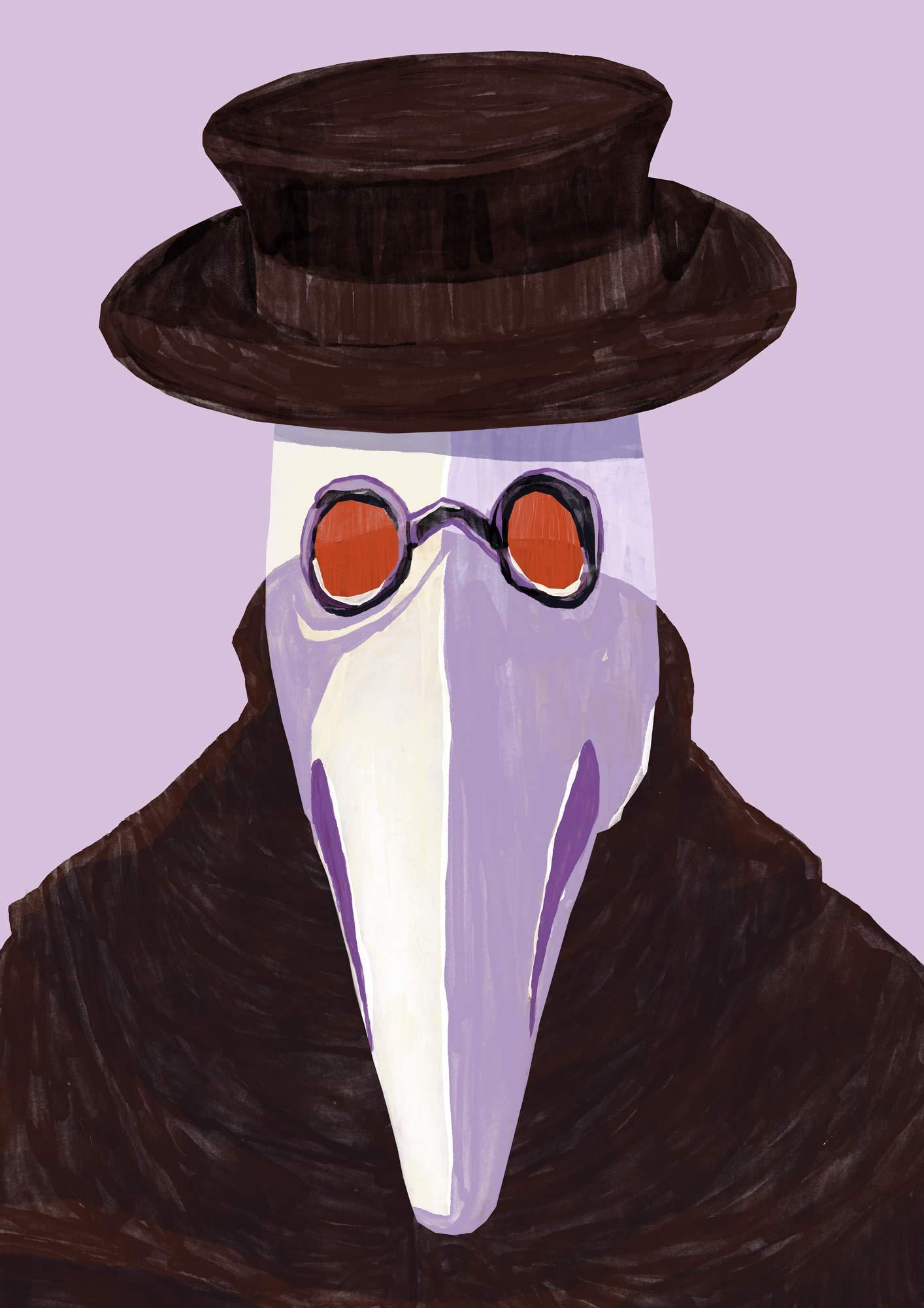 Mario Jodra illustration Art - Plague Doctor