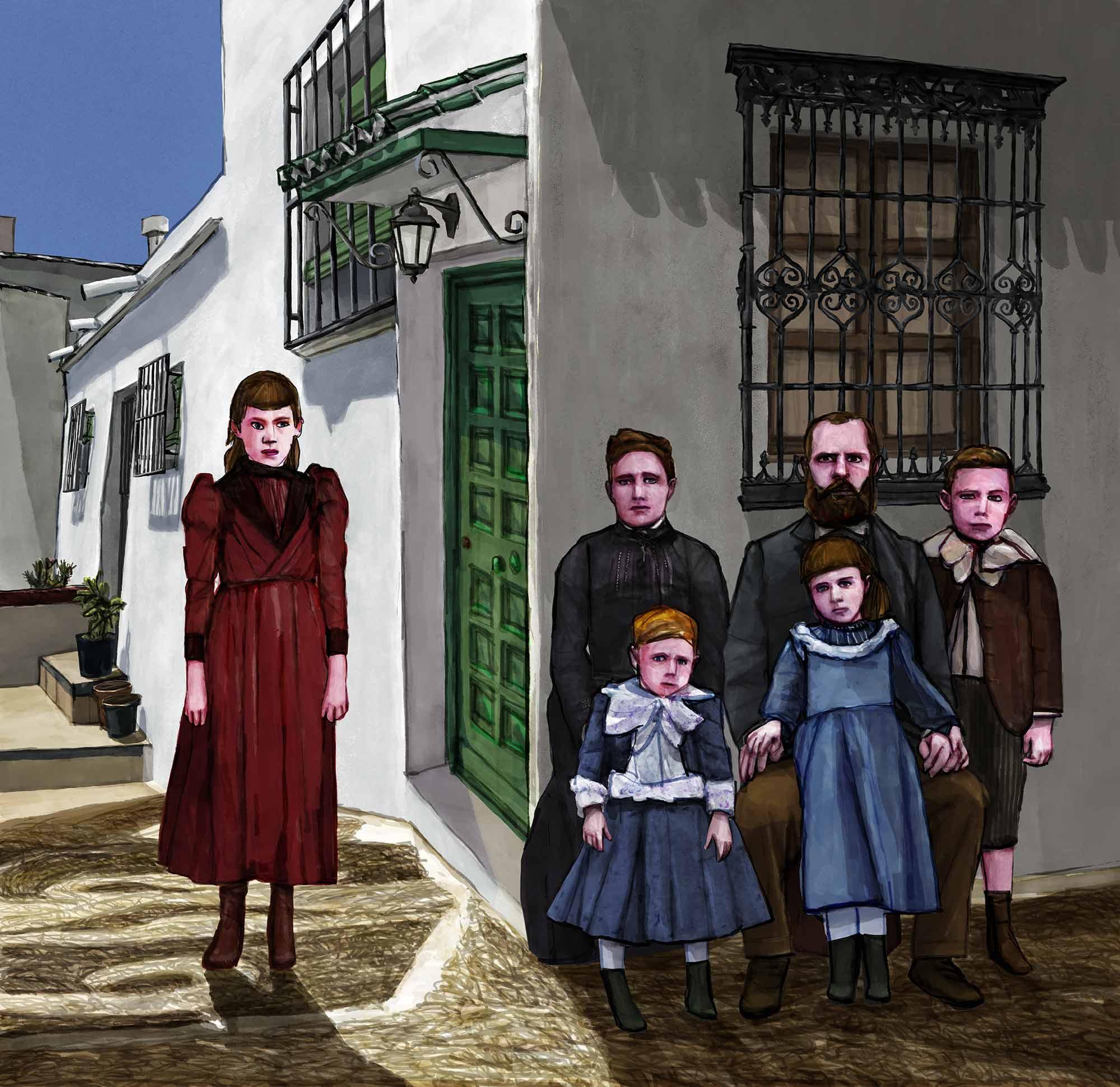 Mario Jodra illustration - Frigiliana La Axarquía