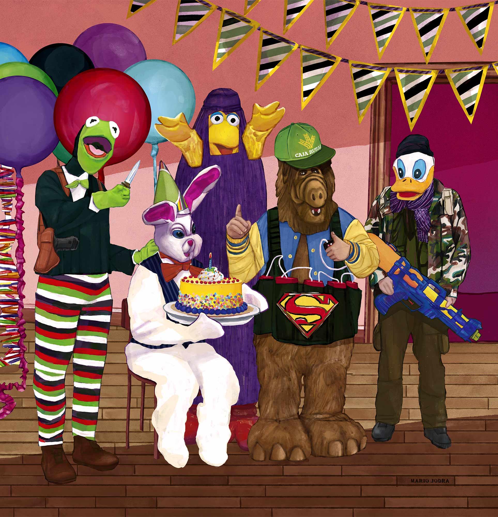 Mario Jodra Art - Happy Birthday Señor Conejo